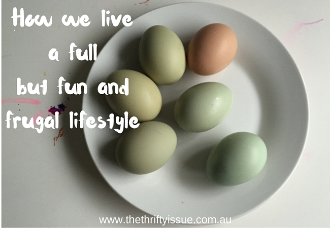 How we live a full but fun and frugal lifestyle 2