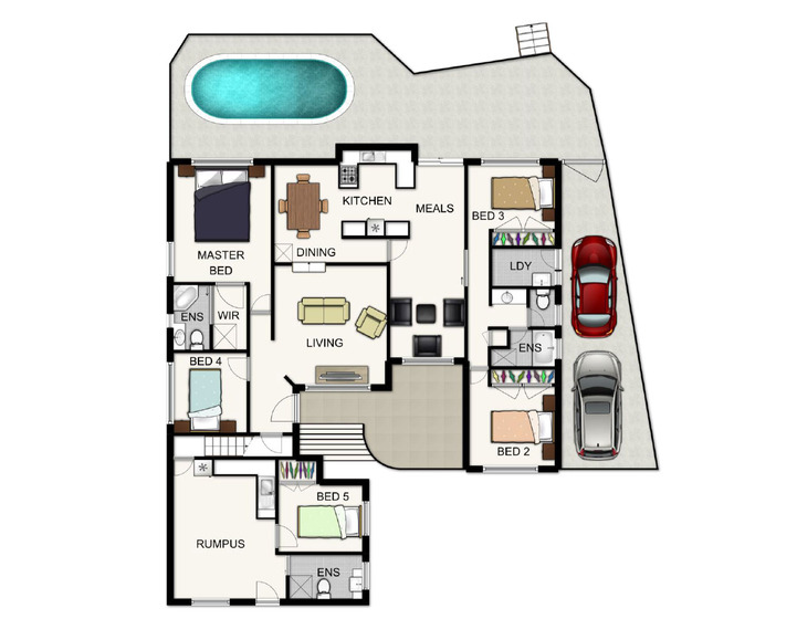 Make your home pay for itself and live for free - a good floor plan is crucial