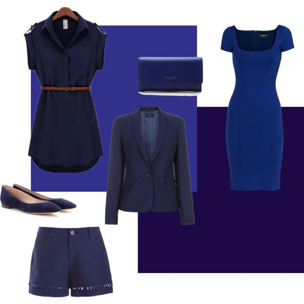 Try Navy Neutrals instead of assuming black goes with everything