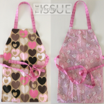 How to sew a reversible child's apron