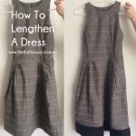 How To Lengthen A Dress