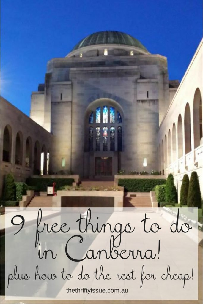9 free things to do in Canberra