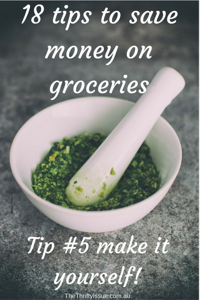 18 tips to save money on groceries