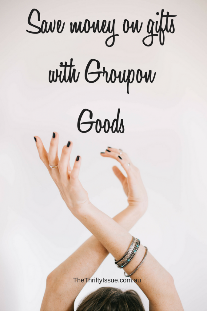 Save money on gifts with Groupon goods #Sponsored