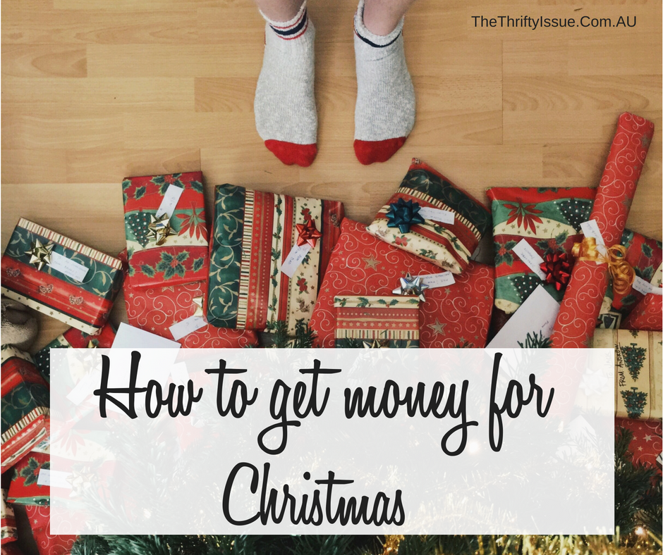 How to get money for Christmas